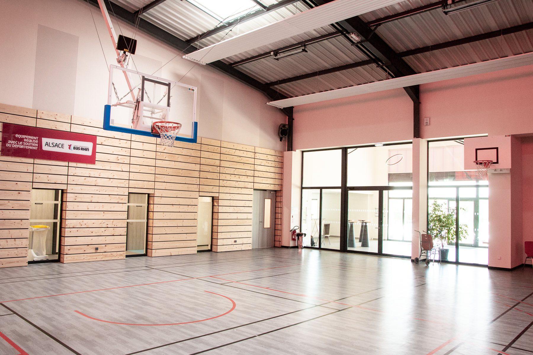 Salle Culturelle Et Sportive De Morschwiller Menuiserie Schalck